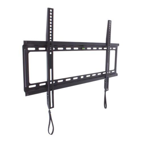 """Βάση FXS80 32""""-80"""" Μαύρη Σταθερή με κορδόνι Well TVS-LCD-FXS80-WL"""