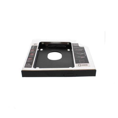 Θήκη σληρού δίσκου HDD (Caddy) για φορητό υπολογιστή 12.7mm RACK-CADDY-HDD12.7