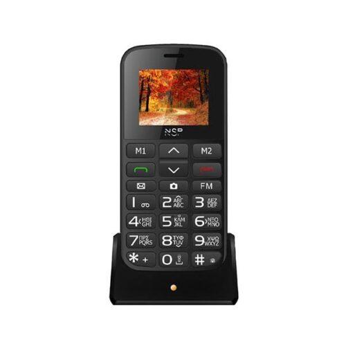 """Κινητό NSP 2000DS 1.8"""" Dual Sim Μαύρο/Ασημι"""