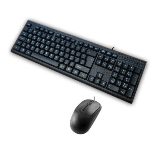 Σετ Πληκτρολόγιο - Ποντίκι Ενσύρματο USB SP-5500