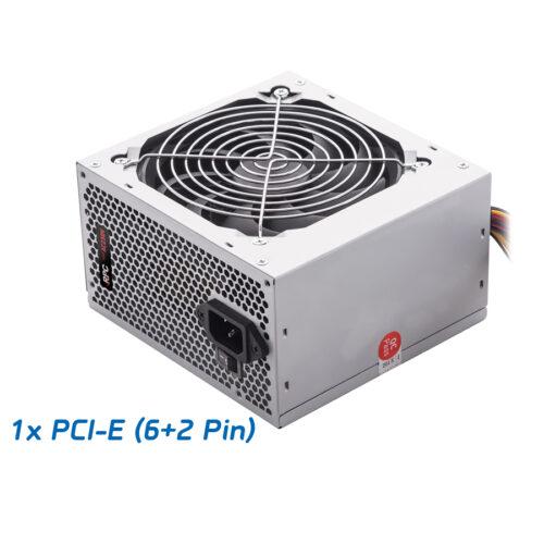 Τροφοδοτικό RPC Passive PFC 550W ATX 1x6pin PCI-E 12cm Black Fan 55P00P