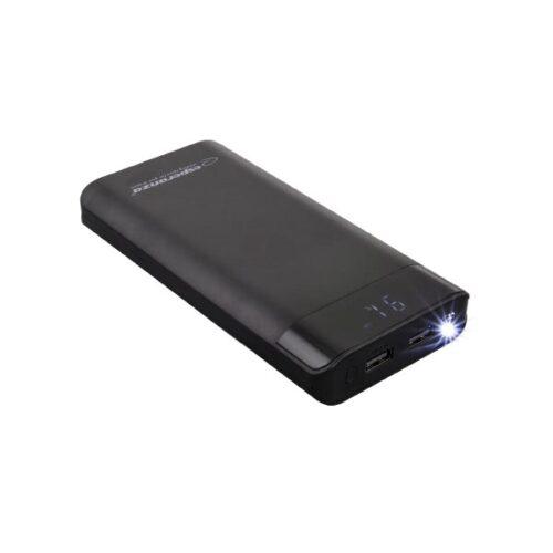 Φορητός Φορτιστής 17400mA Power Bank μαύρο