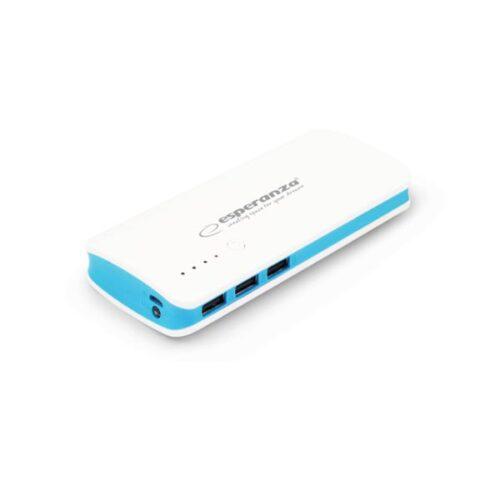 Φορητός Φορτιστής 8000mA Power Bank άσπρο/μπλε