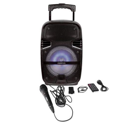 Φοριτό Ηχείο Bluetooth 20W Karaoke με Μικρόφωνο Omega OG83