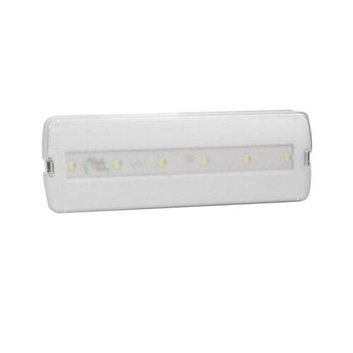Φωτιστικό Ασφαλείας 3W 6xLED Well επαναφορτιζόμενο LEDBHEC-3W/6L-IP20-WL