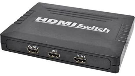 Alba Manual 2-Way HDMI Selector