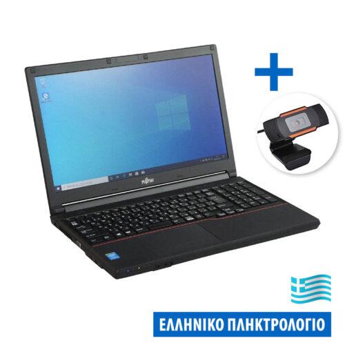 "Bundle Fujitsu LifeBook A574 i3-4000M/15.6""/4GB/320GB/DVD/8P Grade A+/W/Camera 720P X04 Ref. Laptop"
