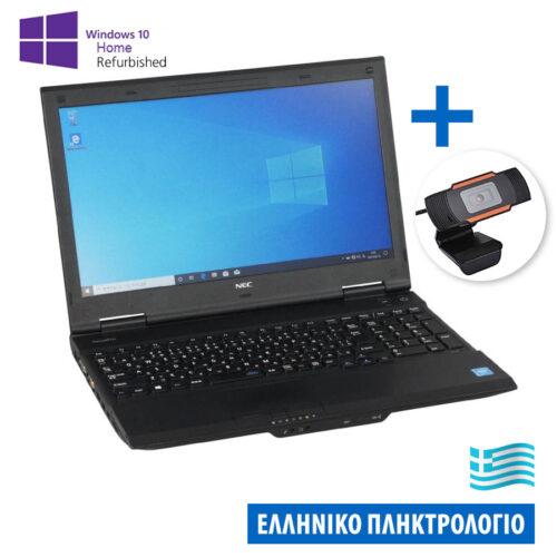 "Bundle NEC VK-25Lanem i3-4000M/15.6""/4GB/500GB/DVD/Win.10HomeMAR Grade A+/w/Camera 720P X04 Ref.Lapt"