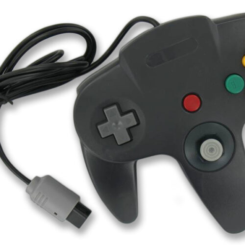 Controller wired for N64 Black
