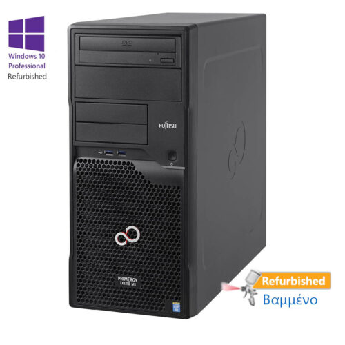 Fujitsu TX1310M1 Tower Xeon E5-1226 V3(4-Cores)/16GB DDR3/1TB/DVD/W10P Refurbished Grade A+ Workstat