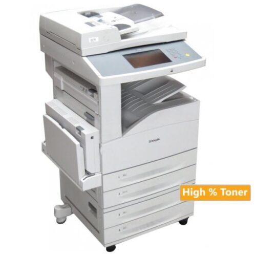Lexmark Used MFP Printer Α3 X860de Δικτυακό Laser Mono. Πολυμηχάνημα ( με high toner)