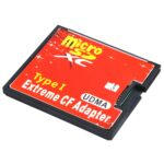 Micro SD to CF Compact Flash Memory Card Adapter