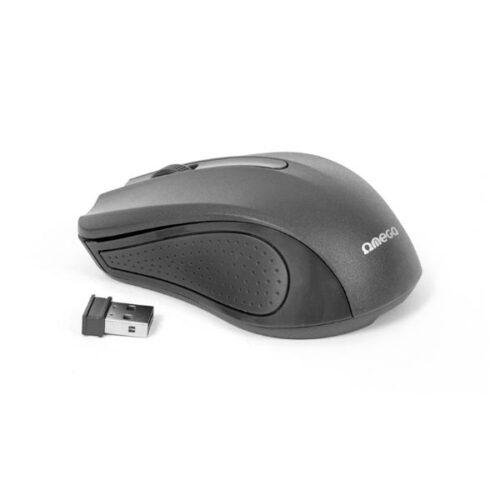 Omega Ασύρματο Ποντίκι 2.4Ghz μαύρο OM0419B