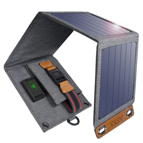 Outdoor solar charger - 14W - water resistant