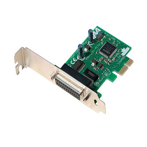 PCI-E to Serial + Parallel port