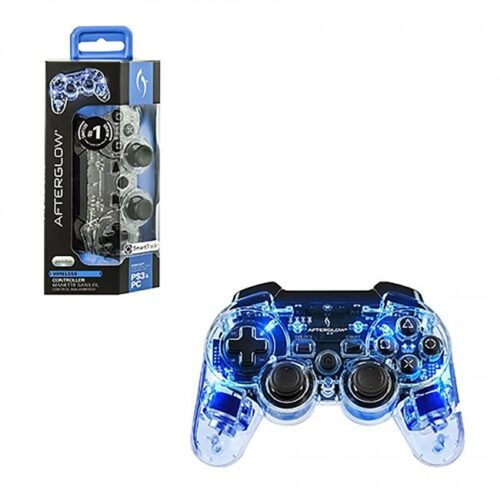 PS3 Afterglow Wireless Controller Blue