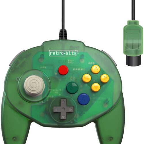 Tribute Controller for Nintendo 64 - wired - Forest Green