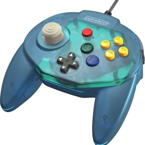 Tribute Controller for Nintendo 64 - wired - Ocean Blue