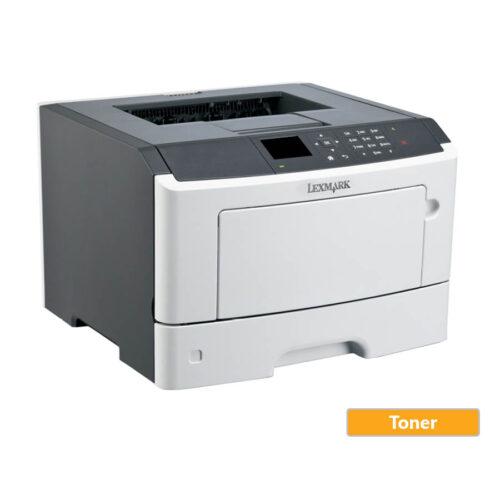 Used Laser Printer Lexmark MS415DN Mono Δικτυακός ( με toner)