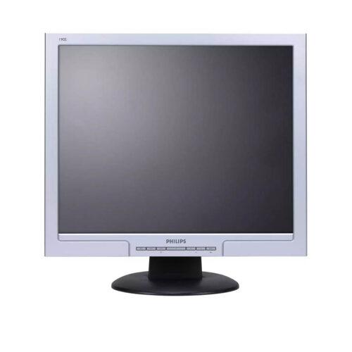 Used Monitor 190S TFT/Philips/19/1280x1024/Black/D-SUB & DVI-D