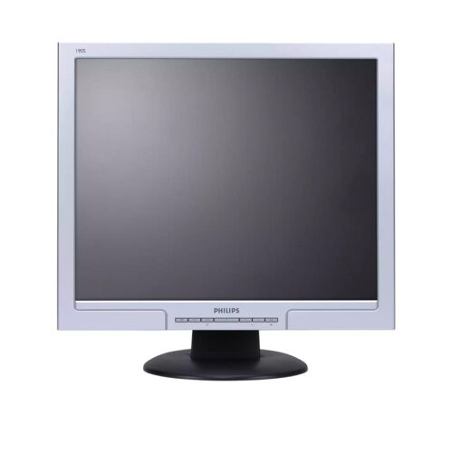 Used Monitor 190S TFT/Philips/19/1280x1024/Silver/Black/D-SUB & DVI-D