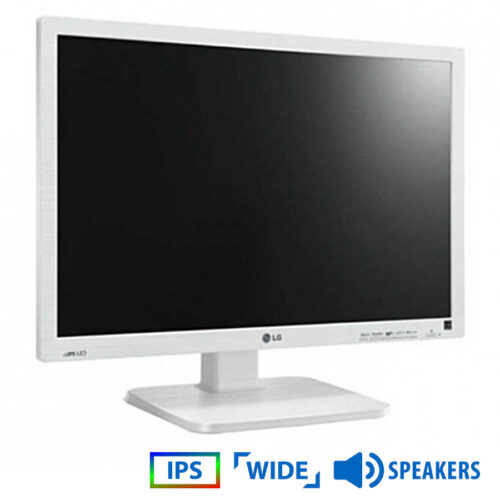 "Used Monitor 22MB65 IPS/LG /22""/16800x1050/Wide/White/w/Speakers/D-SUB & DVI-D"