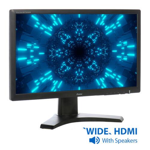 "Used Monitor B2712HDS TFT/iiyama/27""/1920x1080/wide/Black/w/Speakers/VGA & DVI-D & HDMI"