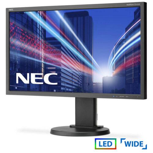 Used Monitor E243WMI-BK LED/NEC/24/1920x1080/wide/Black/D-SUB & DVI-D & DP