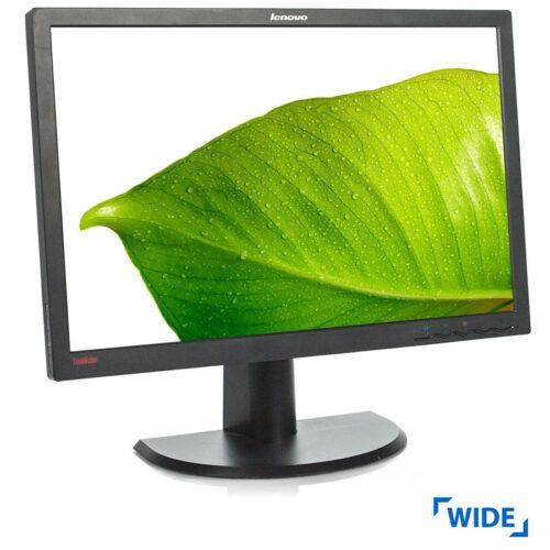 """Used Monitor L2440x TFT/Lenovo/24""""/1920x1200/wide/Black/D-SUB & DVI-D"""