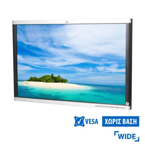 """Used Monitor LA2205wg TFT/HP/22""""/1680x1050/wide/No Stand/Silver/Black/VGA&DVI-D&USB Hub"""