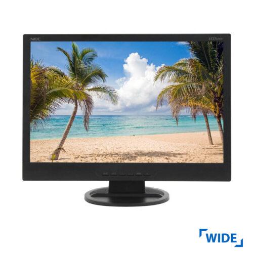 "Used Monitor LCD22WV TFT/NEC /22""/1680x1050/wide/Black/Silver/Grade B/VGA"