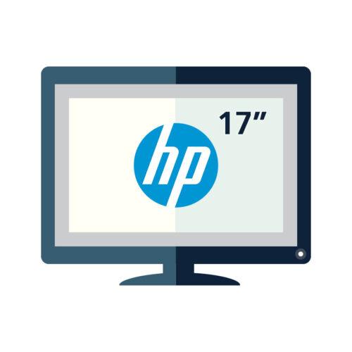 """Used Monitor TFT/HP/17"""" Black or Silver/Grade B/VGA"""