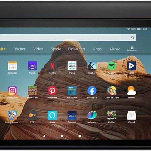 Amazon Fire HD 10 32GB Black incl. Alexa 10inch w