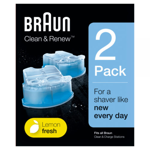 Braun Clean&Charge Refill Cartridges CCR2 2pcs pack
