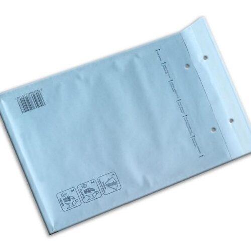 Bubble envelopes white Size K 370x480mm (100 pcs.)