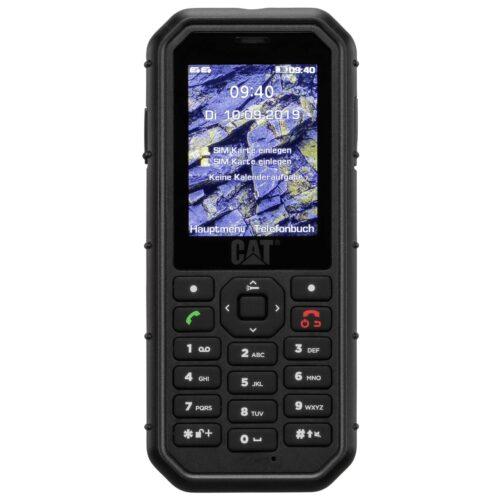 Caterpillar CAT B26 Dual-SIM-Outdoor Handy 32GB Black CB26-DAE-EUA-EN