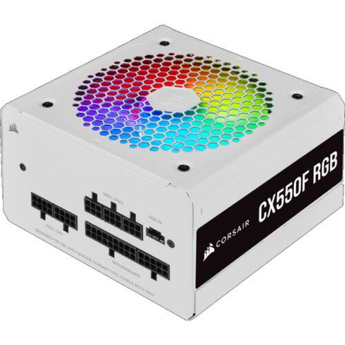 Corsair PC- Netzteil CX550F RGB white | CP-9020225-EU