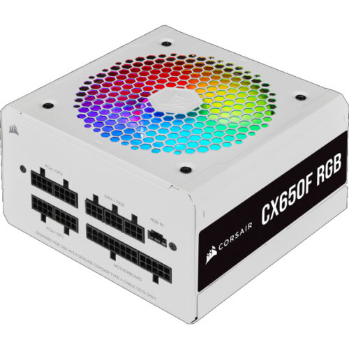 Corsair PC- Netzteil CX650F RGB white CP-9020226-EU