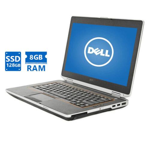 """Dell Latitude E6420 i5-2410M/14""""/8GB/128GB SSD/DVD Grade A Refurbished Laptop"""