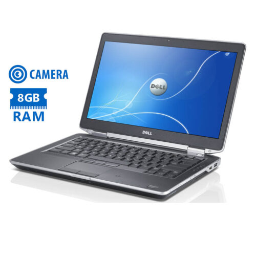"""Dell Latitude E6430 i5-3210M/14""""/8GB/320GB/DVD/Camera/7P Grade A Refurbished Laptop"""