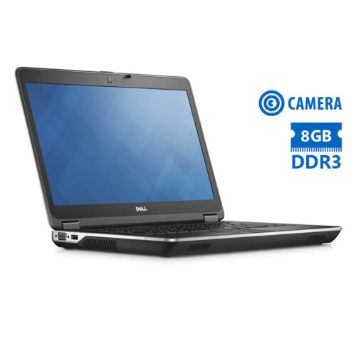 """Dell Latitude E6440 i5-4300M/14""""/8GB/320GB/DVD/Camera/7P Grade A Refurbished Laptop"""
