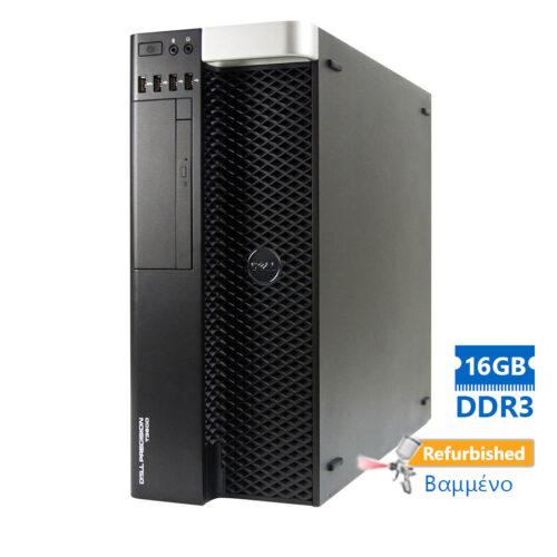 Dell T3600 Tower Xeon E5-1620(4-Cores)/16GB DDR3/2TB/Κάρτα γραφικών1GB/DVD/7P Grade A+ Workstation R