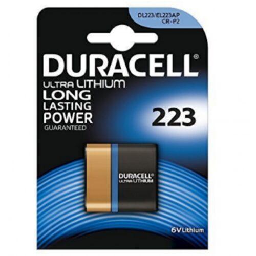 Duracell Batterie Lithium Photo CR-P2 6V Ultra Blister (1-Pack) 223103