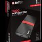 EMTEC SSD 1TB 3.1 Gen2 X200 SSD Portable Retail ECSSD1TX200