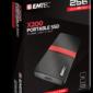 EMTEC SSD 256GB 3.1 Gen2 X200 SSD Portable Retail ECSSD256GX200