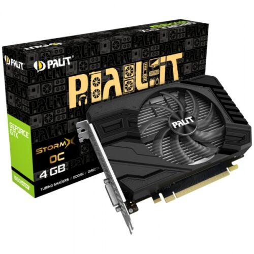 GTX 1650Super 4GB Palit StormX OC - Dual Slot - 1Fan NE6165SS18G1-166F
