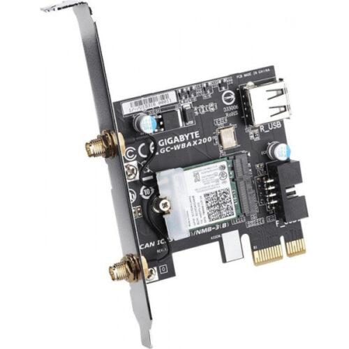 Gigabyte GC-WBAX200 WLAN & Bluetooth 5.0 PCIe x1 PCI GC-WBAX200 REV1.0
