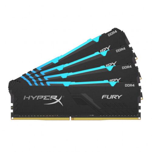 Kingston HyperX FURY RGB DDR4 32GB 4x8GB DIMM 288-PIN HX434C16FB3AK4