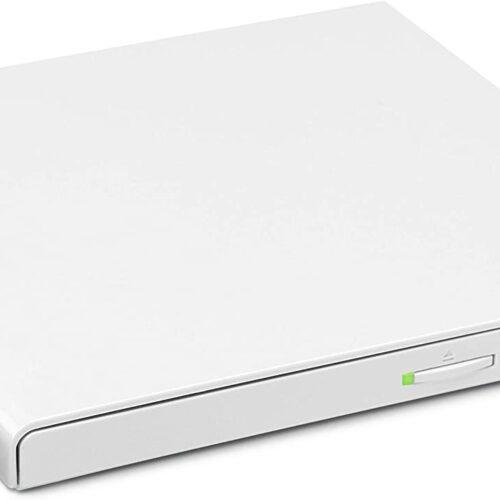 LG Externer DVD-Brenner HLDS GP57EW40 Slim USB white GP57EW40