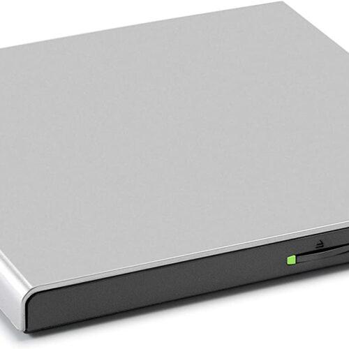 LG HLDS Externer DVD-Brenner Slim USB silver GP57ES40.AHLE10B